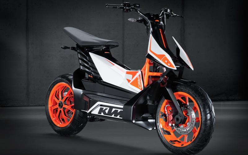 KTM confirms electric scooter for 2015 release