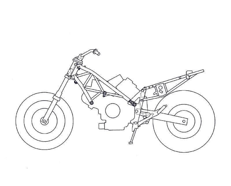 Hondas naked VF800 designs