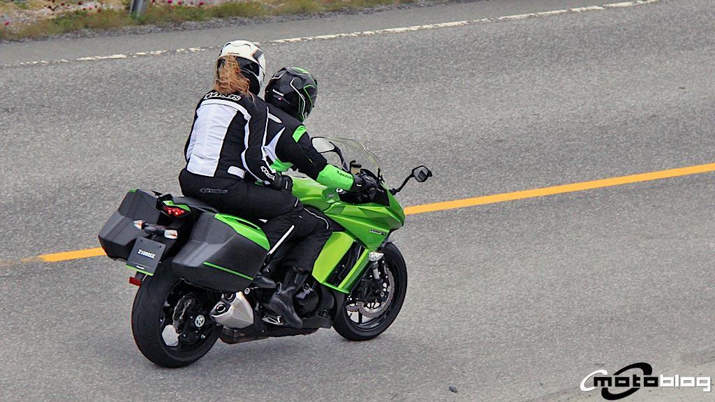 New Kawasaki Z1000SX Spied