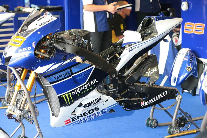 New chassis joins Rossi and Lorenzo's Yamaha wish list | MCN