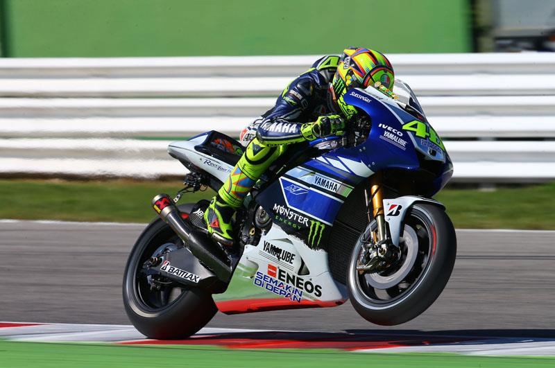 Valentino rossi impressed with 2014 yzr m1 mcn for Yamaha m1 for sale