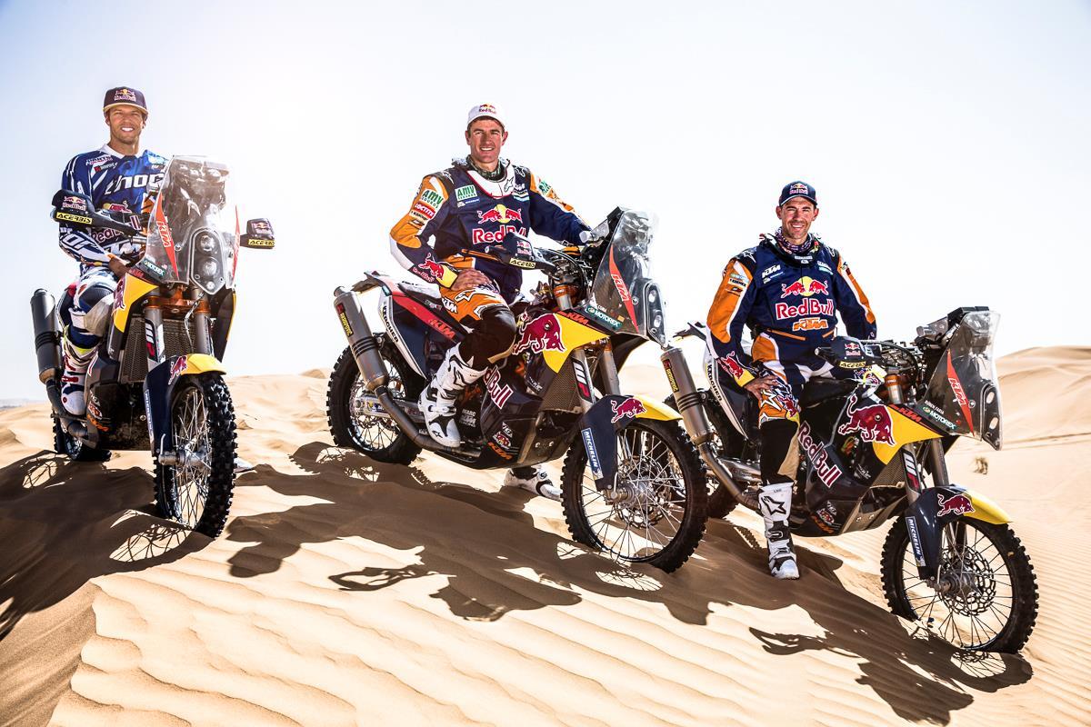Ktm Unveils 2014 450 Rally Mcn