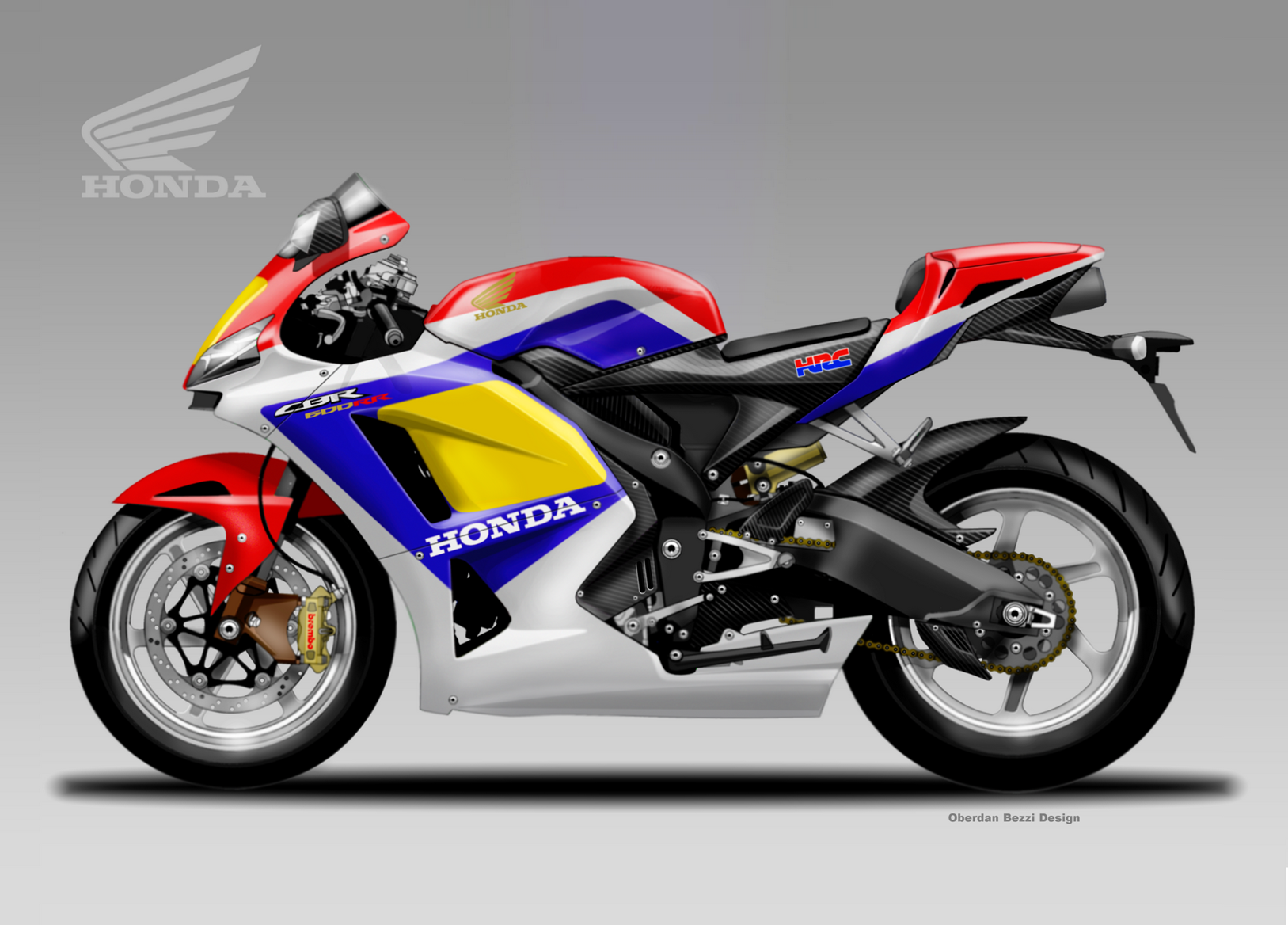 Honda CBR600RR by HRC concept  MCN