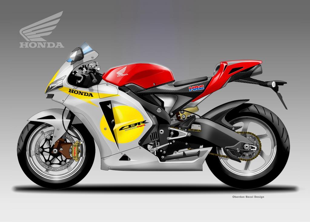 Honda CBR1000RR HRC concept   MCN