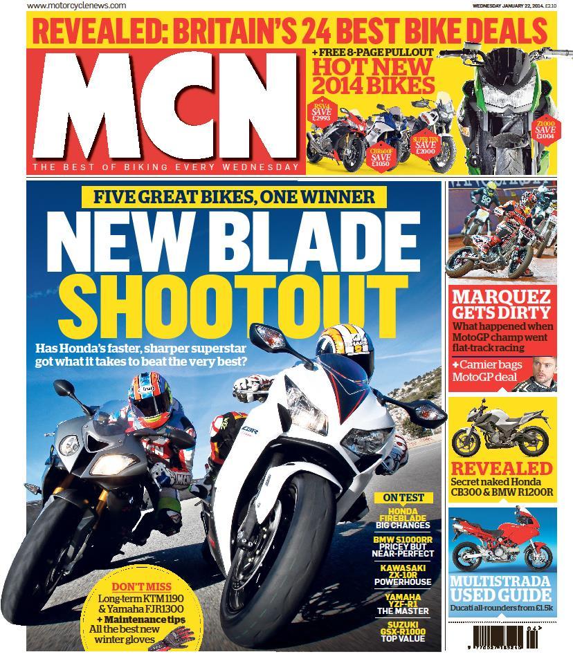 MCN Article - UK Honda MB5 Web Site