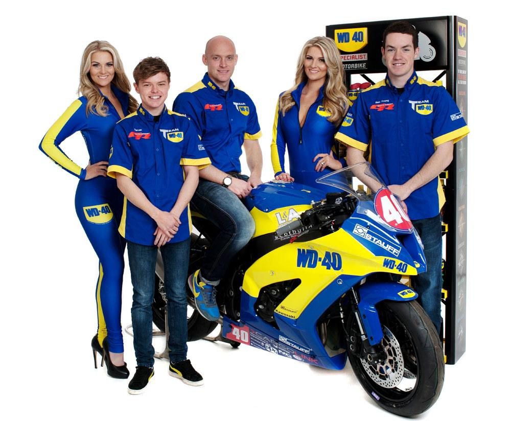 team wd 40 to race in three classes in 2014 mcn. Black Bedroom Furniture Sets. Home Design Ideas