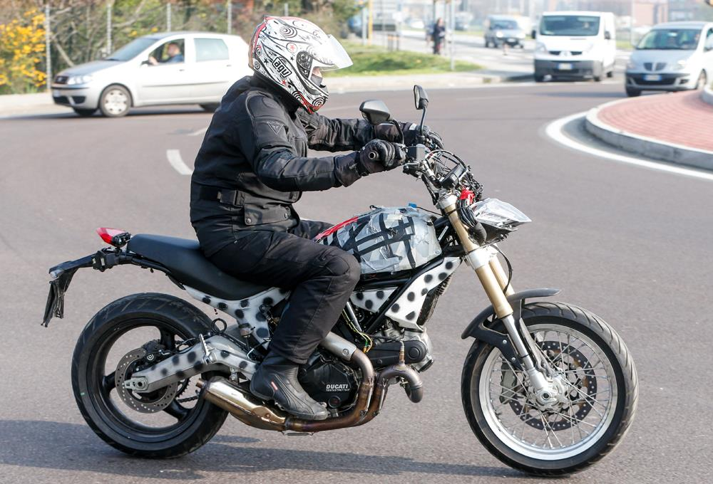 Ducati S First Stab At A Retro Bike Mcn