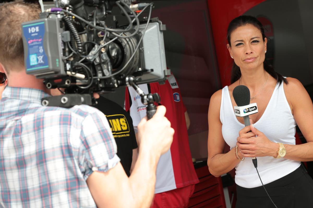 Melanie Sykes leaves BTSport   MCN