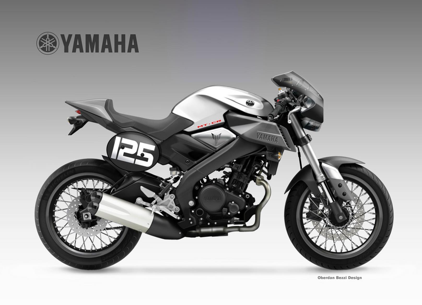 Yamaha Mt 125 Cr Concept Mcn