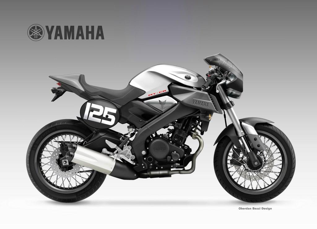 yamaha mt 125 cr concept mcn. Black Bedroom Furniture Sets. Home Design Ideas