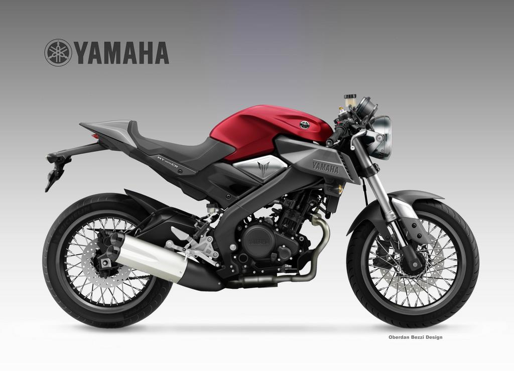 Yamaha mt 125 cr concept mcn for Mount holly powersports yamaha