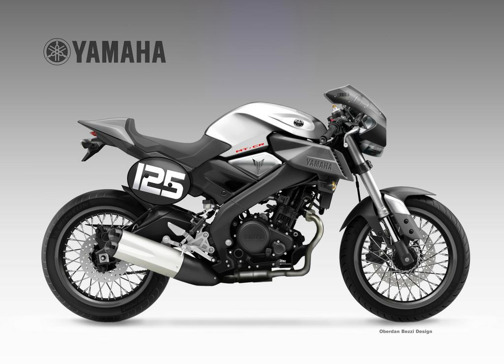 yamaha mt 125 cr concept mcn. Black Bedroom Furniture Sets. Home Design Ideas