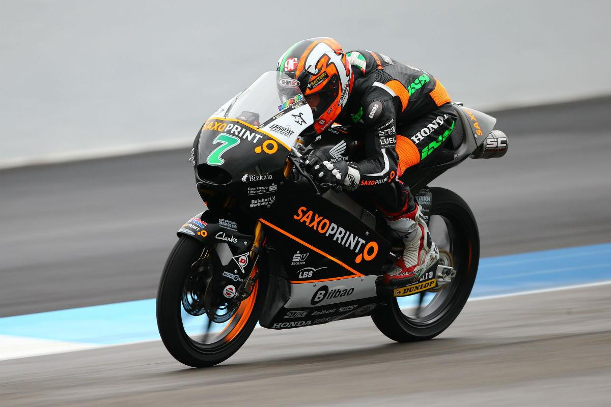 indianapolis moto3: vazquez takes first moto3 win | mcn