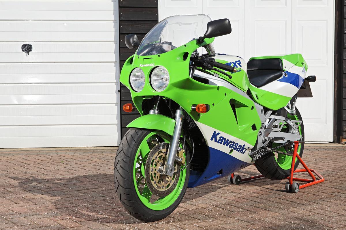 Kawasaki Zxr First Bike