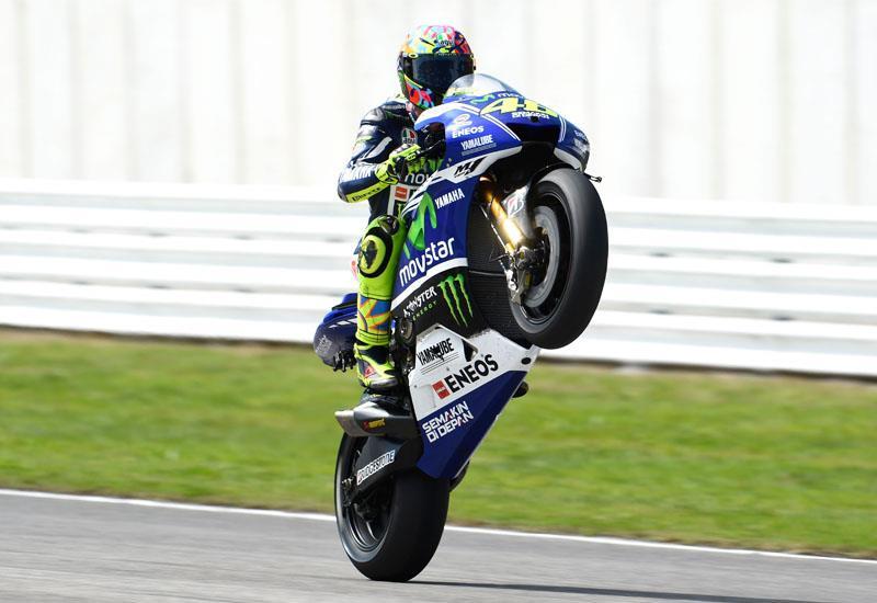 MotoGP Misano: Rossi wins after commanding race