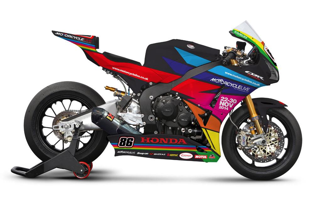 Honda celebrate Motorcycle Live with Silverstone paint scheme | MCN
