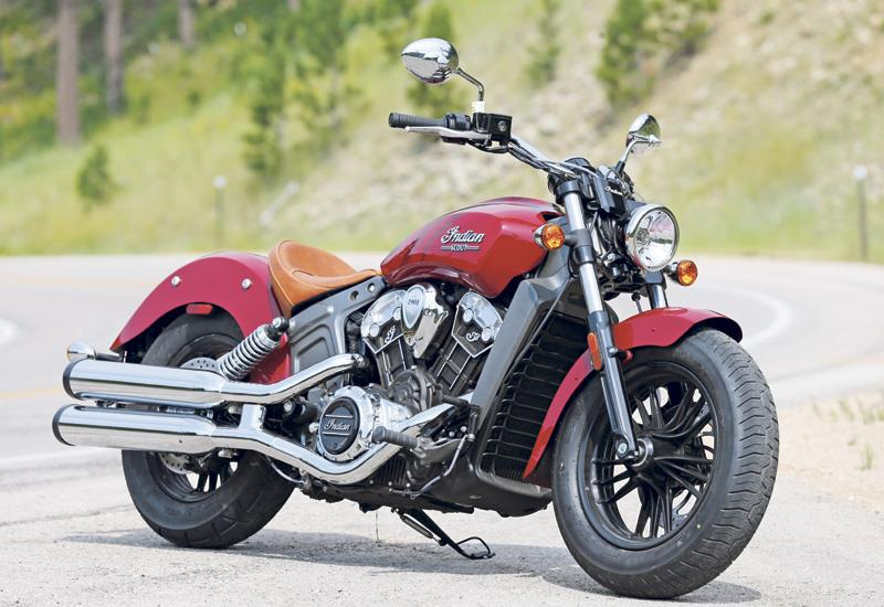 Indian Scout 2017 On