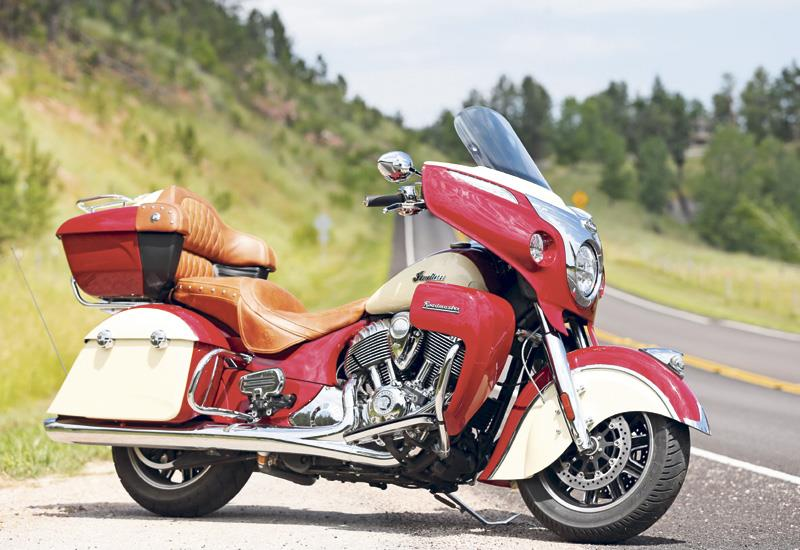 Indian Roadmaster 2017 On
