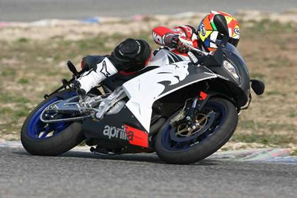Aprilia RS125 motorcycle review - Riding