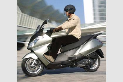 Aprilia Atlantic 500 motorcycle review - Riding