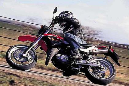 Aprilia MX125 motorcycle review - Riding