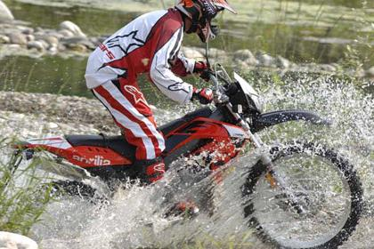 Aprilia RX50 motorcycle review - Riding