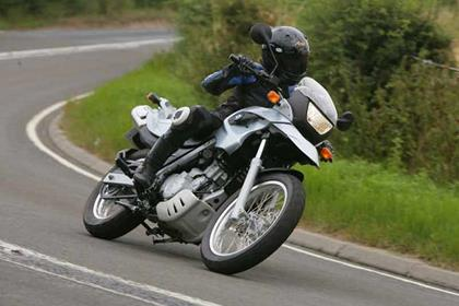 BMW F650 motorcycle review - Riding