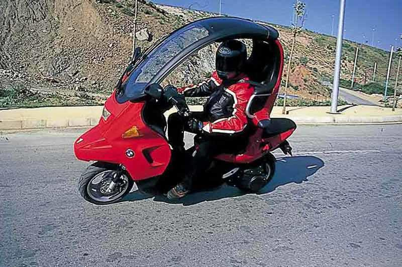 Bmw C1 Motorcycle Review Riding