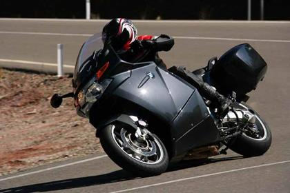 BMW K1200GT motorcycle review - Riding