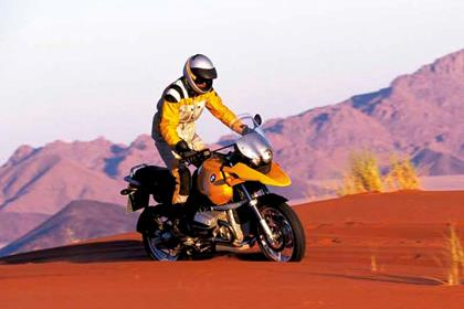 BMW R1150GS motorcycle review - Riding