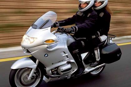 BMW R1150RT motorcycle review - Riding