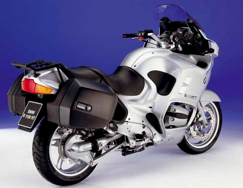 Bmw r1150rt 2001 2005 review mcn bmw r1150rt motorcycle review rear view fandeluxe Images