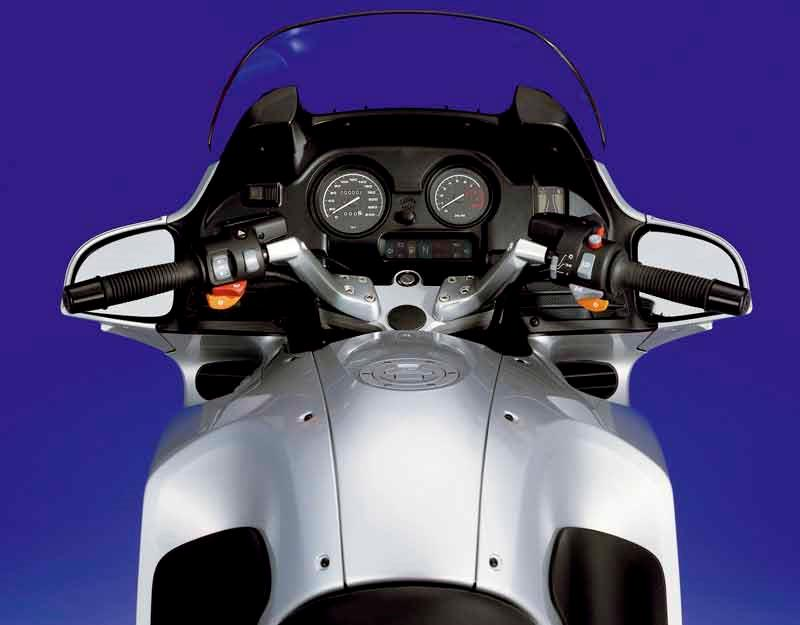 Bmw r1150rt 2001 2005 review mcn bmw r1150rt motorcycle review top view fandeluxe Images