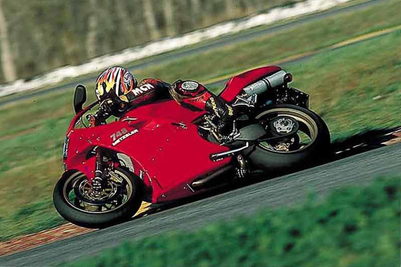 Ducati 748 side profile
