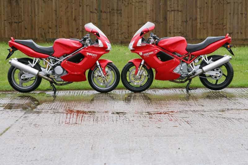 Ducati St Weight