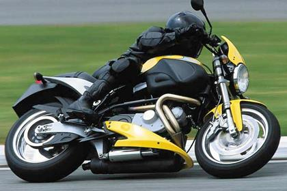 Buell X1 Lightning motorcycle review - Riding