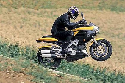 Bimota Mantra motorcycle review - Riding