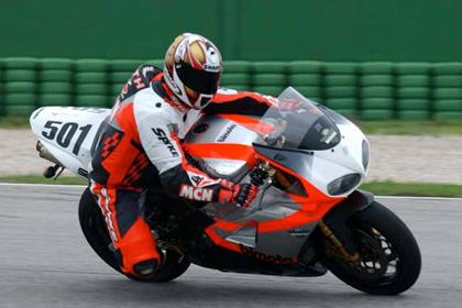 Bimota SB8R motorcycle review - Riding