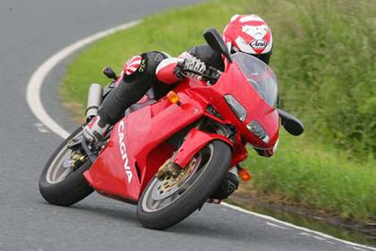 Cagiva Mito 125 motorcycle review - Riding