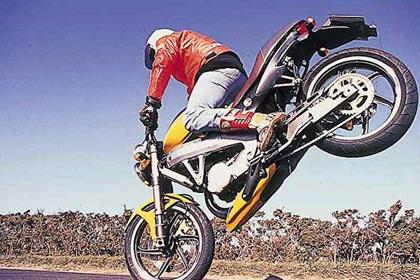 Cagiva Planet 125 motorcycle review - Riding