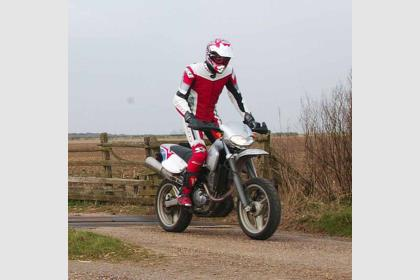 CCM R30 motorcycle review - Riding