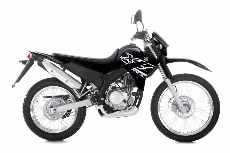 Yamaha xt125r 2005 on review mcn for Yamaha clp 120 specification