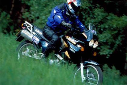 Yamaha XTZ660 motorcycle review - Riding