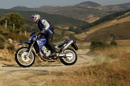 Yamaha XT660X/R motorcycle review - Riding
