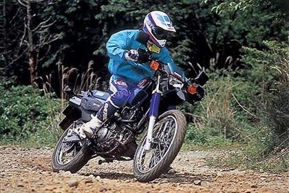 Yamaha XT600E motorcycle review - Riding
