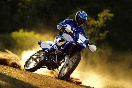 Yamaha TT250R motorcycle review - Riding