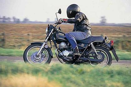 Yamaha SR125 motorcycle review - Riding