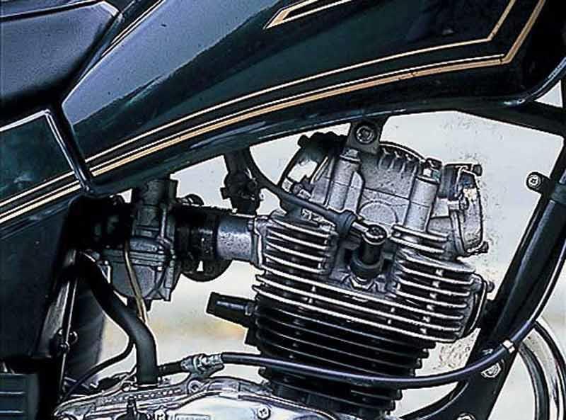 Yamaha SR125 Motorcycle Review
