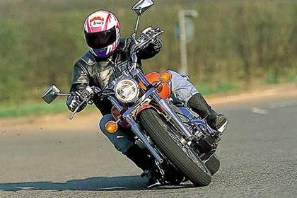 Yamaha XVS650 Dragstar motorcycle review - Riding