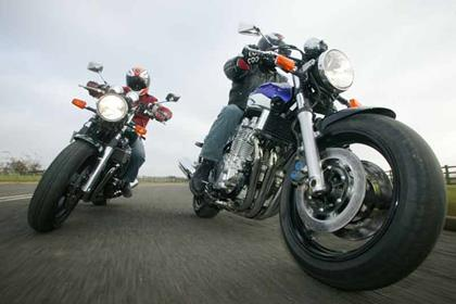 Yamaha XJR1300 motorcycle review - Riding